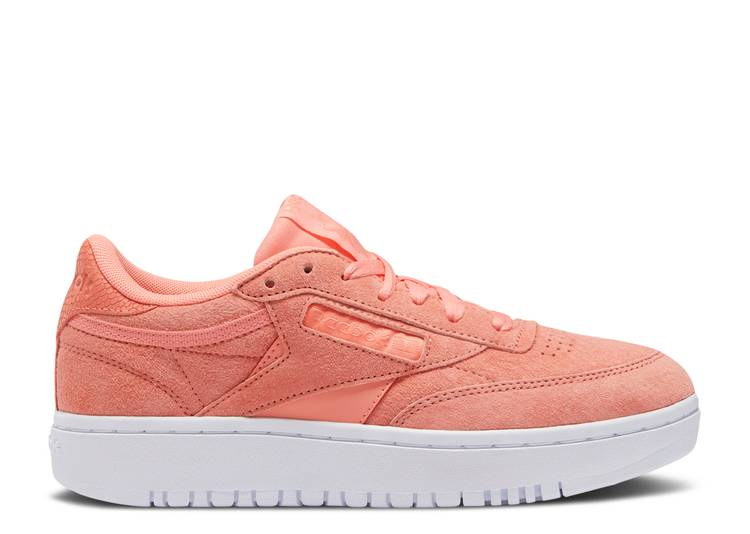Wmns Club C Double 'Twisted Coral'