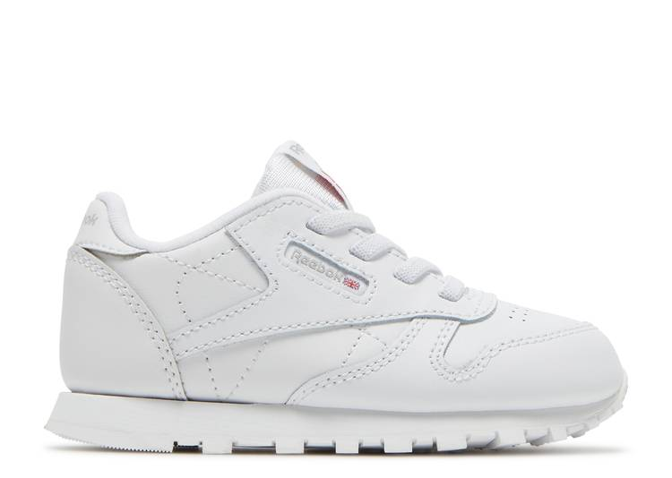 Classic Leather Toddler 'Triple White'