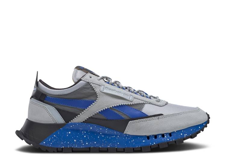 Classic Leather Legacy 'Grey Court Blue Speckle'