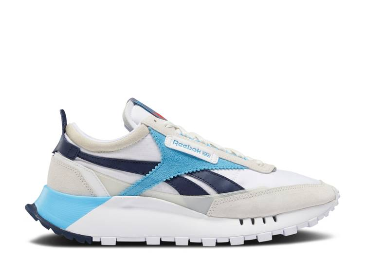 Classic Leather Legacy 'White Vector Navy'