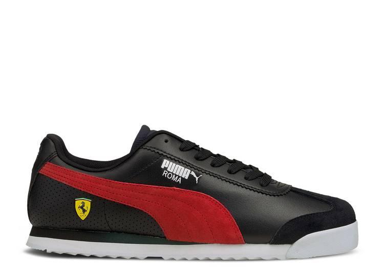 Scuderia Ferrari x Roma 'Black Rosso Corsa'