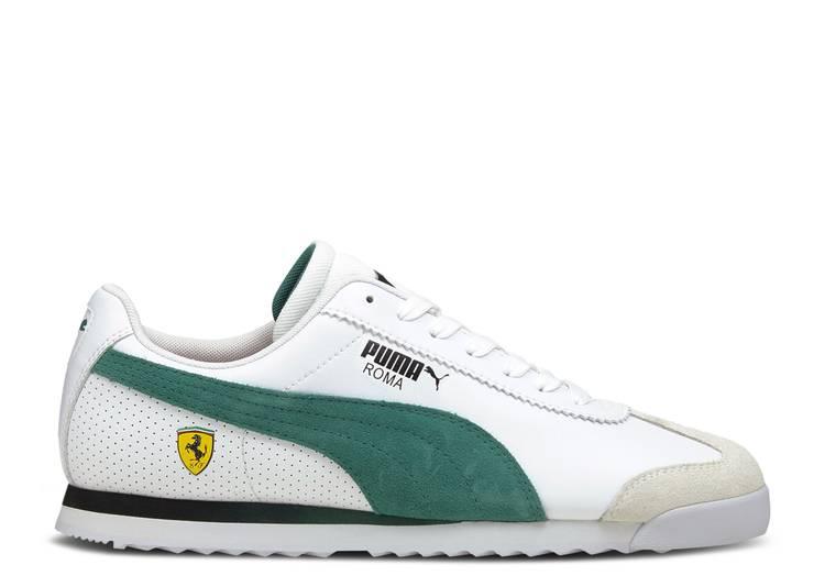Scuderia Ferrari x Roma 'White Green'