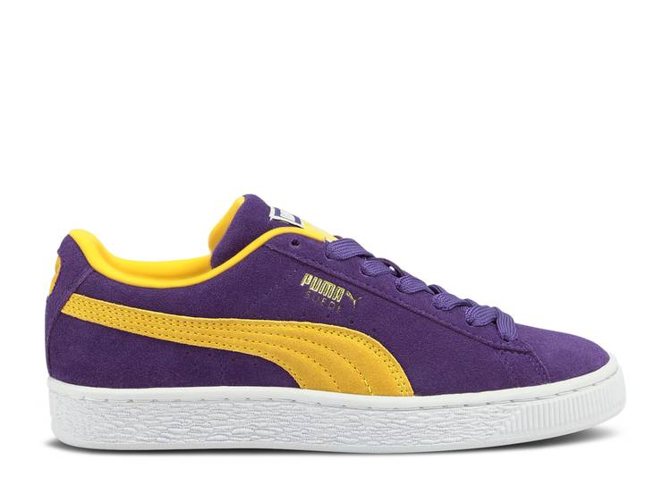 Suede Teams Jr 'Los Angeles Lakers'