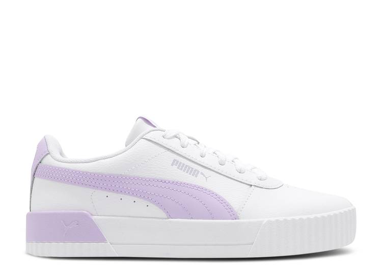 Wmns Carina Leather 'White Light Lavender'