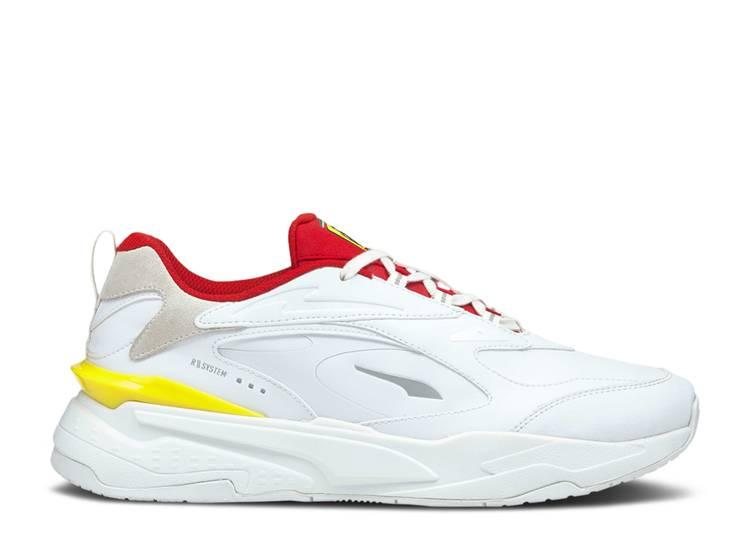 Scuderia Ferrari x RS-Fast 'White Rosso Corsa'