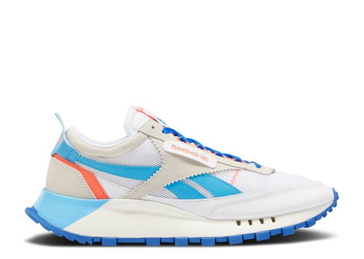 Classic Leather Legacy 'White Court Blue'