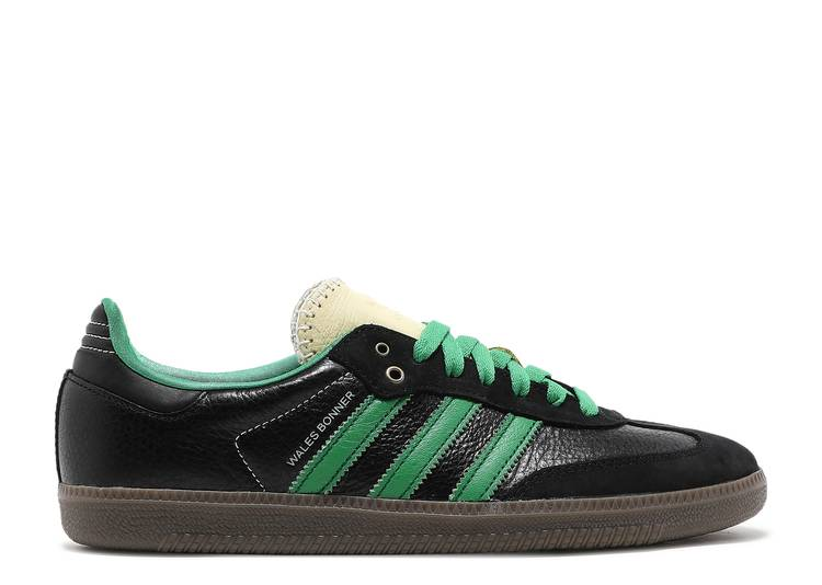 Wales Bonner x Samba 'Black Green'