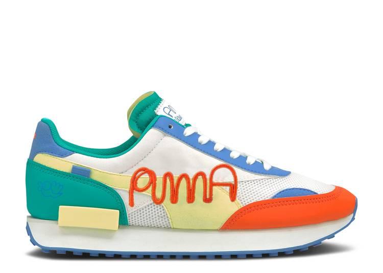 Mr. Doodle x Future Rider 'Puma Wordmark Embroidery'