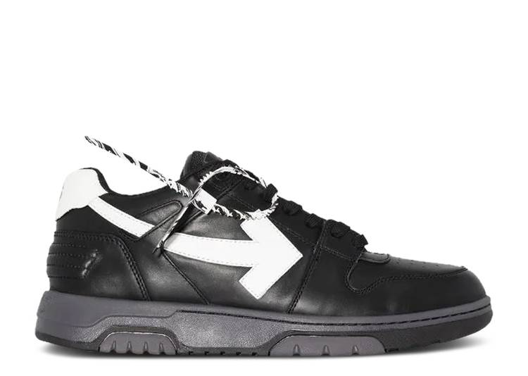 Off-White Out of Office Low 'Black White'
