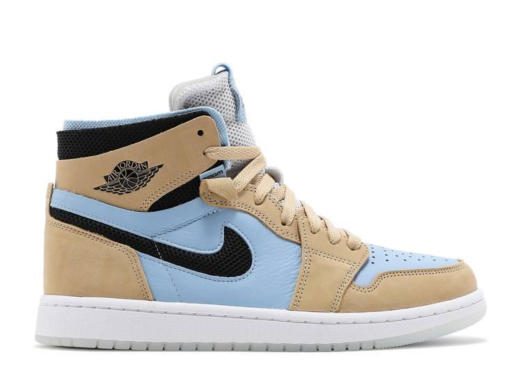 Wmns Air Jordan 1 High Zoom Comfort High 'Psychic Blue Sesame'