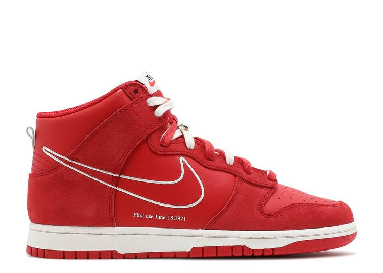 Dunk High SE 'First Use Pack - University Red'
