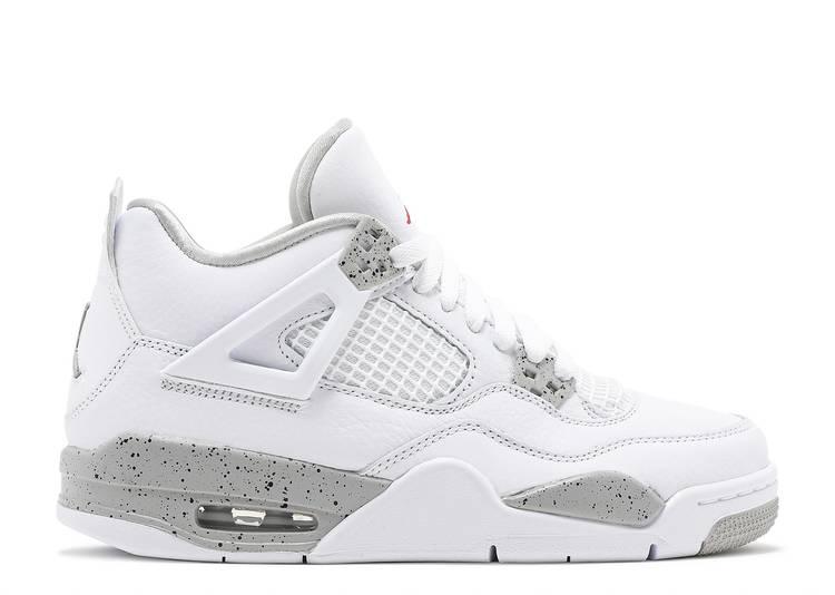 Air Jordan 4 Retro GS 'White Oreo'
