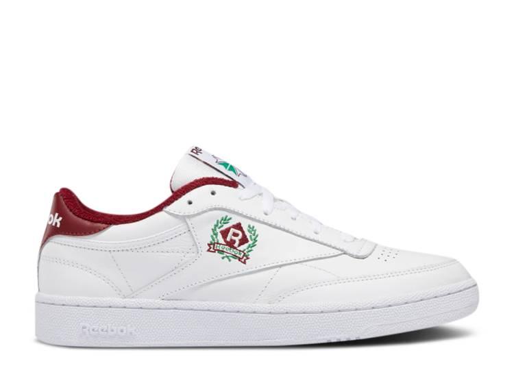 Club C 85 'OG Crest - White Classic Burgundy'