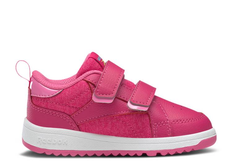 Weebok Clasp Low Toddler 'Pursuit Pink'