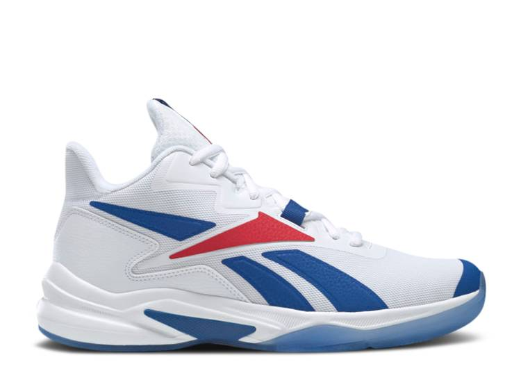 More Buckets 'White Vector Blue Red'