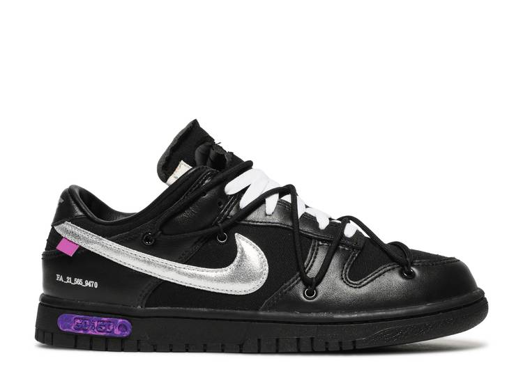 Off-White x Dunk Low 'Lot 50 of 50'