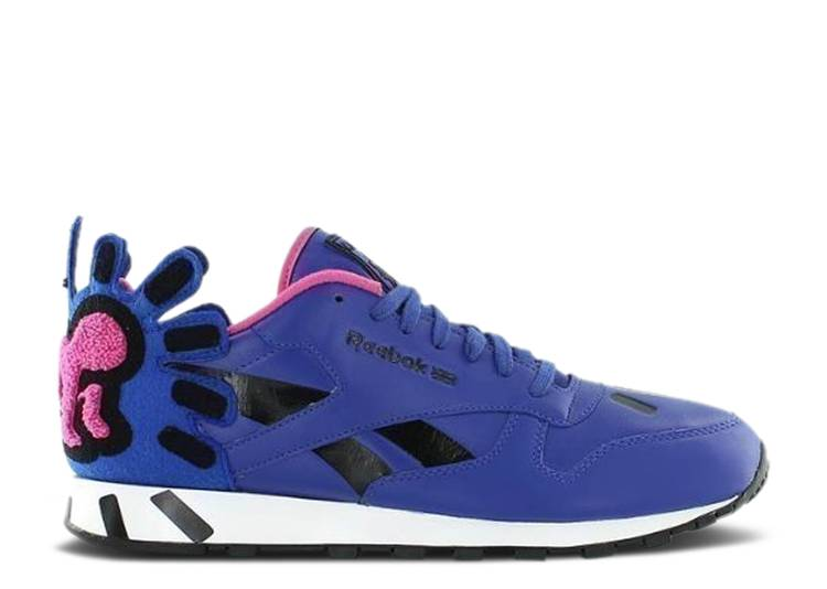 Keith Haring x Classic Leather Lux 'Vital Blue Pink'