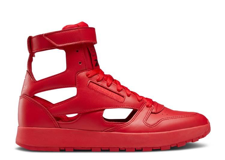 Maison Margiela x Classic Leather Tabi High 'Vector Red'