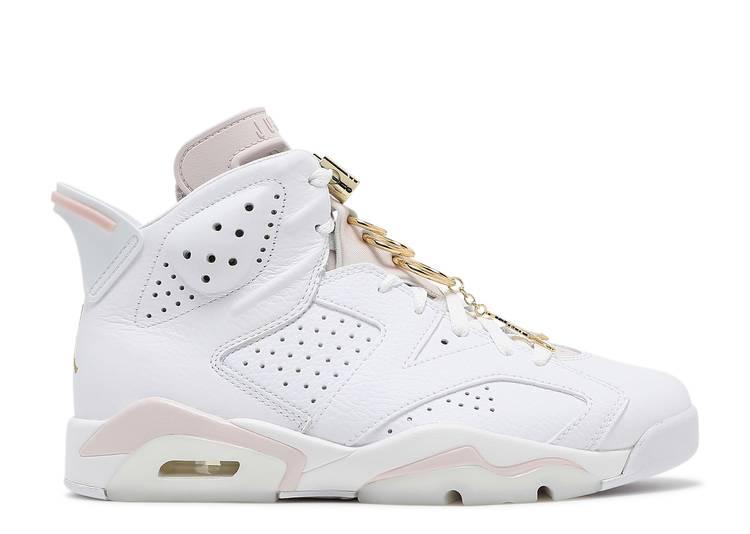 Wmns Air Jordan 6 Retro 'Gold Hoops'
