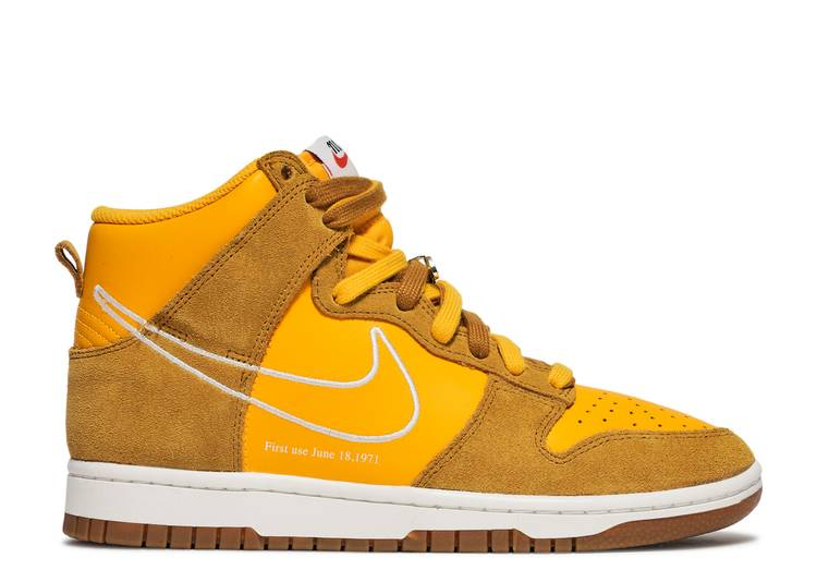 Dunk High SE 'First Use Pack - University Gold'