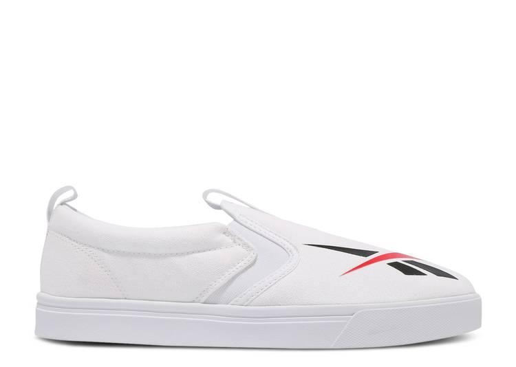 Royal Vulc Slip On 'White Black'