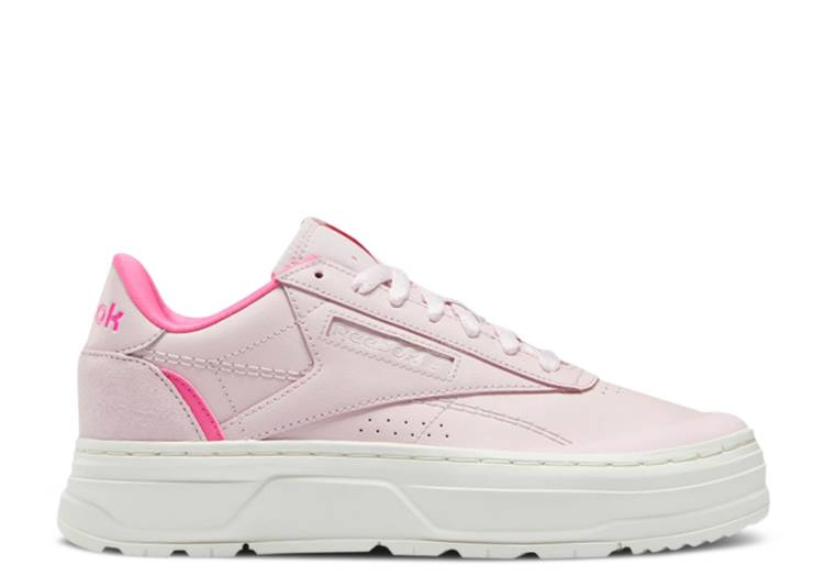Wmns Club C Double Geo 'Frost Berry'