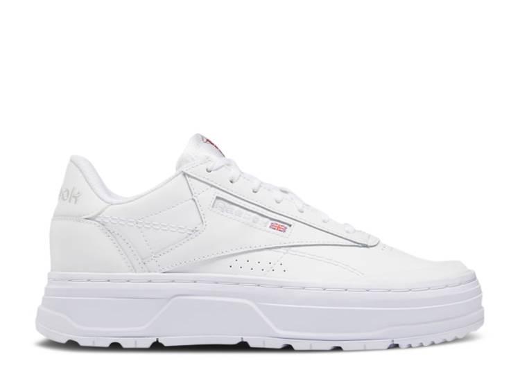 Wmns Club C Double Geo 'Footwear White'
