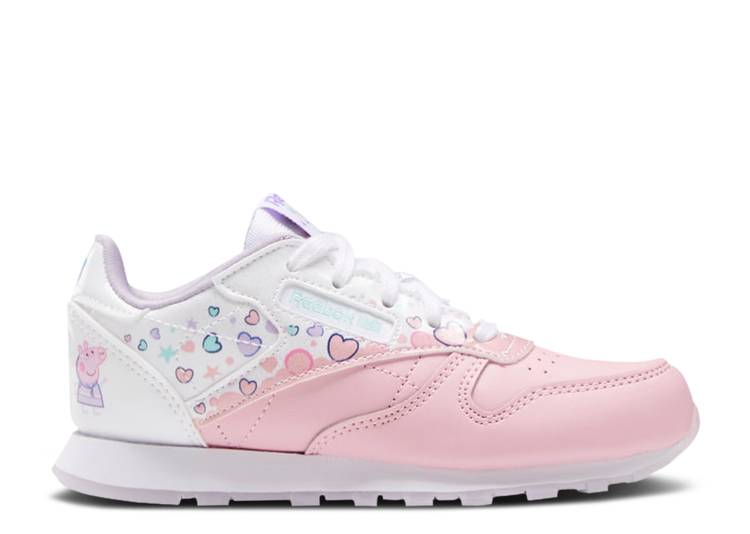 Peppa Pig x Classic Leather J 'Bubbles and Hearts'