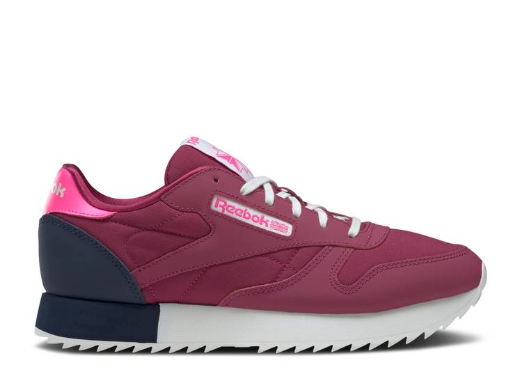 Wmns Classic Leather Ripple 'Punch Berry'
