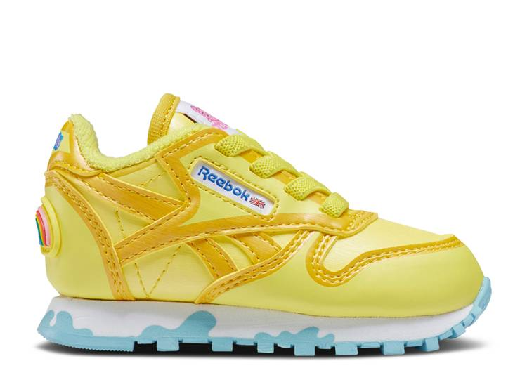 Peppa Pig x Classic Leather Toddler 'Power Yellow'