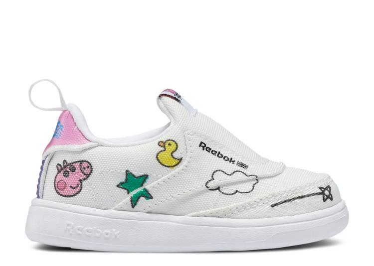 Peppa Pig x Club C Slip-On 4 Toddler 'Play Dreamy'