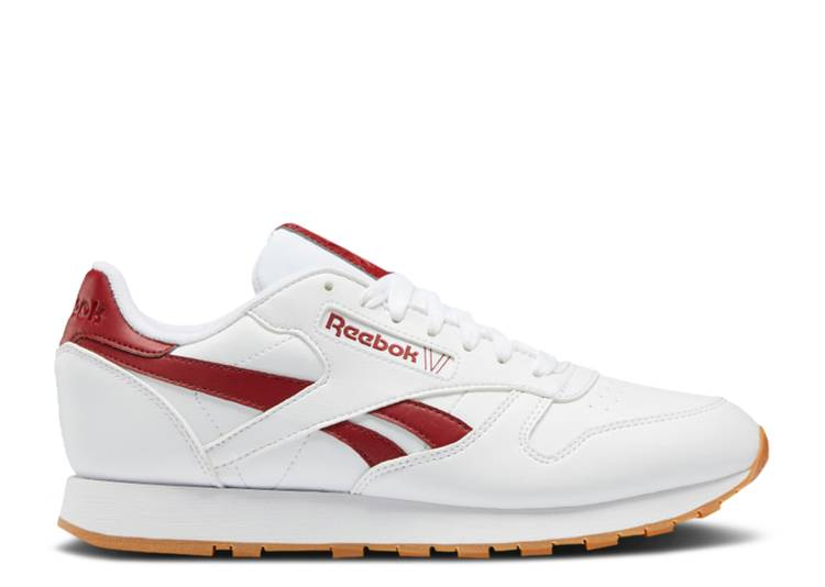 Classic Leather 'White Red Ember'