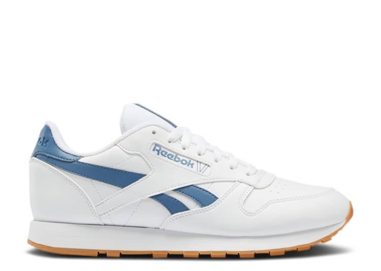 Classic Leather 'White Blue Slate'