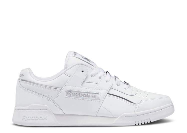 Workout Plus 'White Matte Silver'