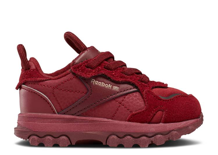 Cardi B x Classic Leather Toddler 'Triathlon Red'
