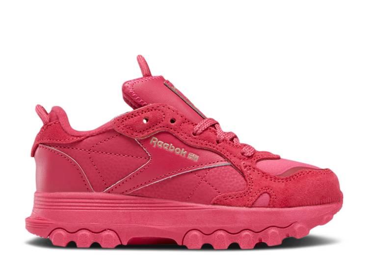 Cardi B x Classic Leather Little Kid 'Semi Pursuit Pink'