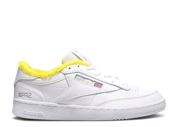 atmos x #FR2 x Club C 85 'White Yellow'
