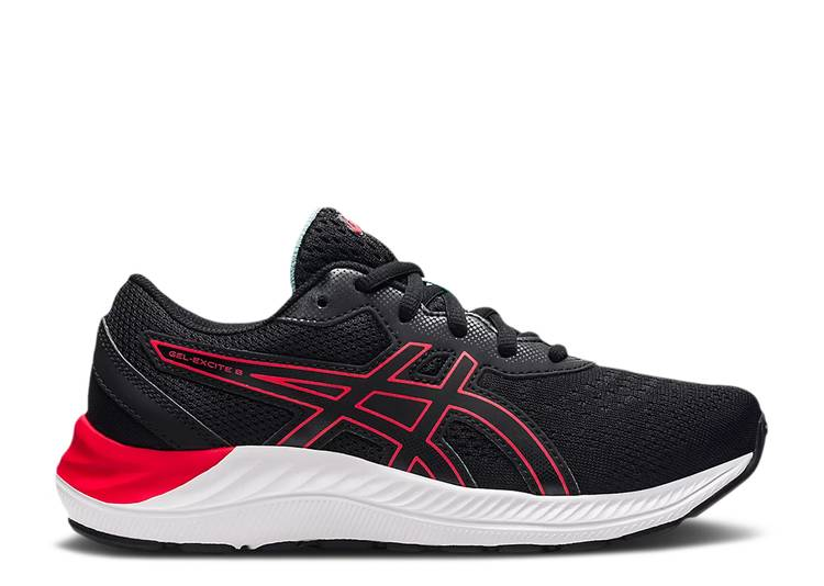 Gel Excite 8 GS 'Black Electric Red'