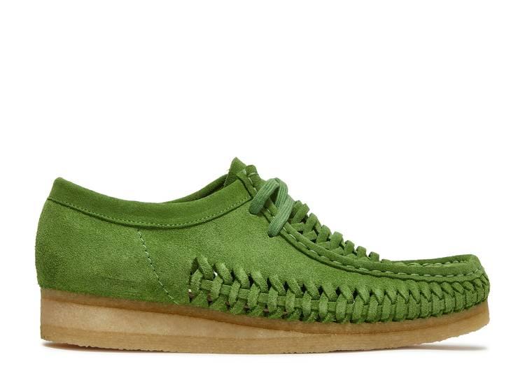 Supreme x Woven Wallabee 'Green'