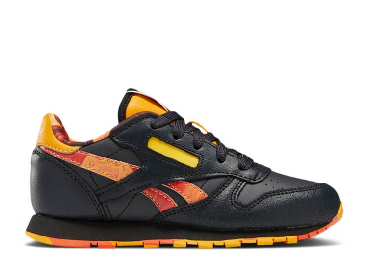 National Geographic x Classic Leather Little Kid 'Lava'