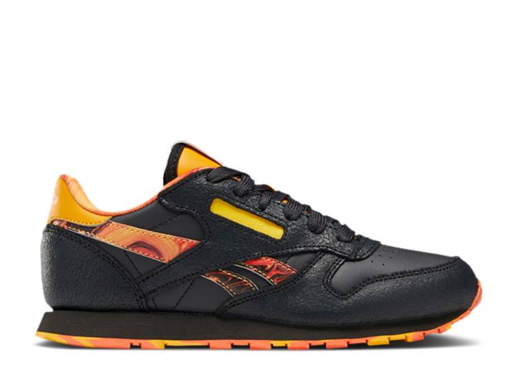 National Geographic x Classic Leather Big Kid 'Lava'