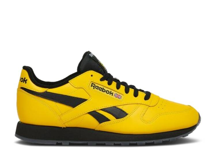 Classic Leather 'Toxic Yellow Black'