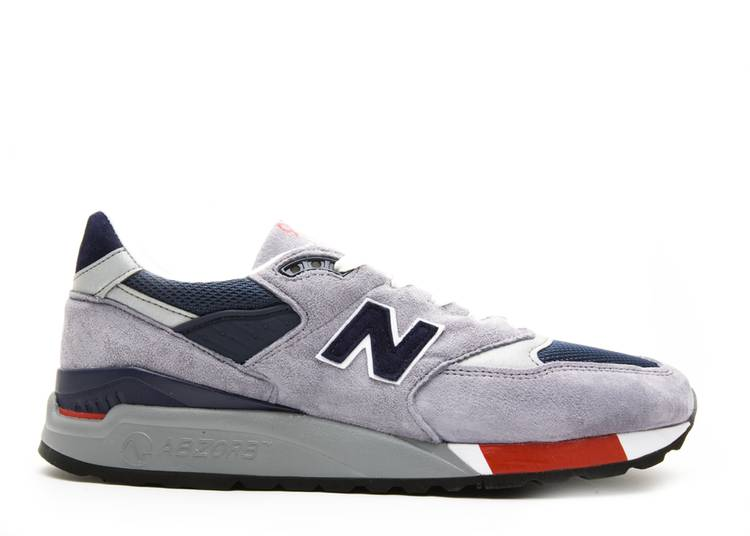 998 Made in USA 'Grey Navy Red'