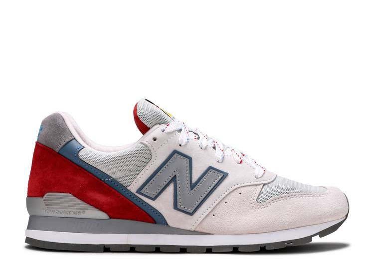996 Made in USA 'National Parks - Beige Red'