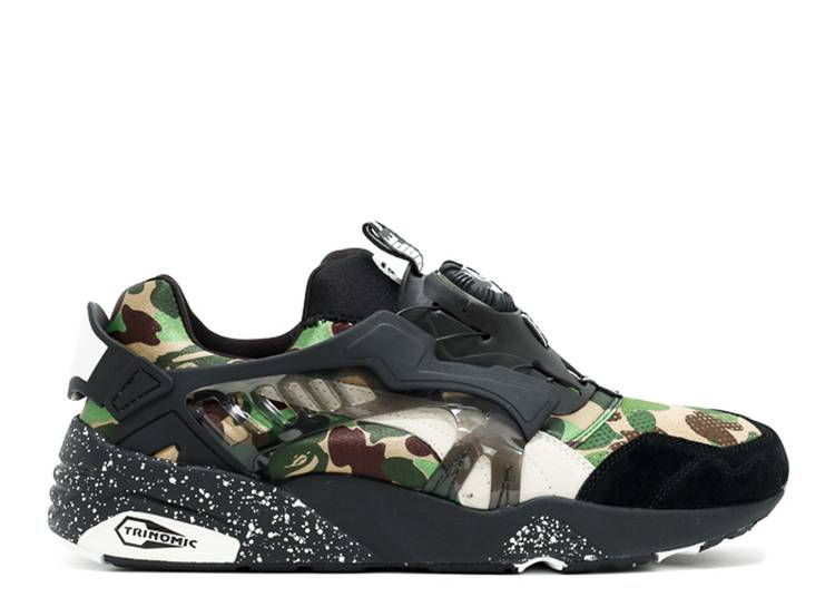 A Bathing Ape x Disc Blaze 'Camo'
