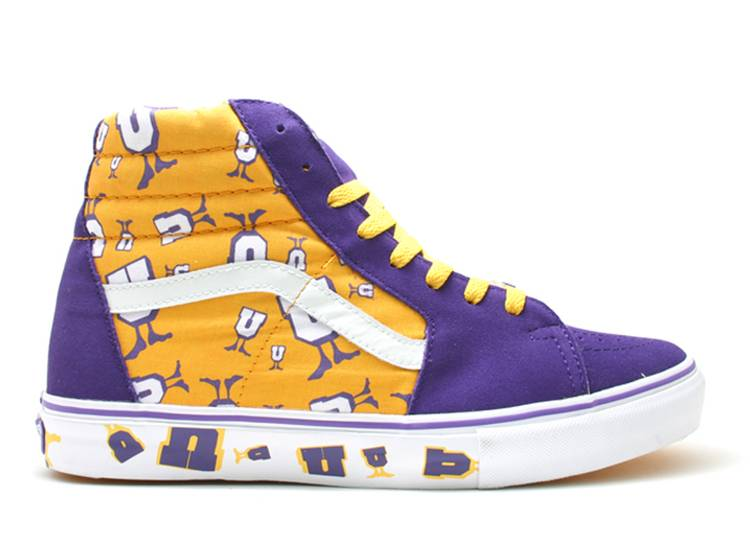 Undefeated x Sk8 Hi Un 'Lakers'