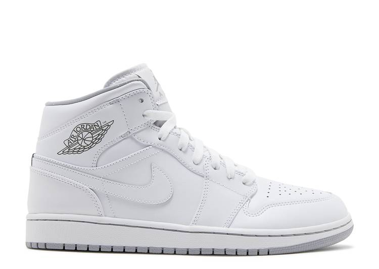 Air Jordan 1 Mid 'White Wolf Grey'
