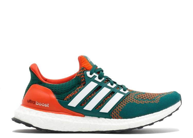UltraBoost 1.0 'Miami Hurricanes'