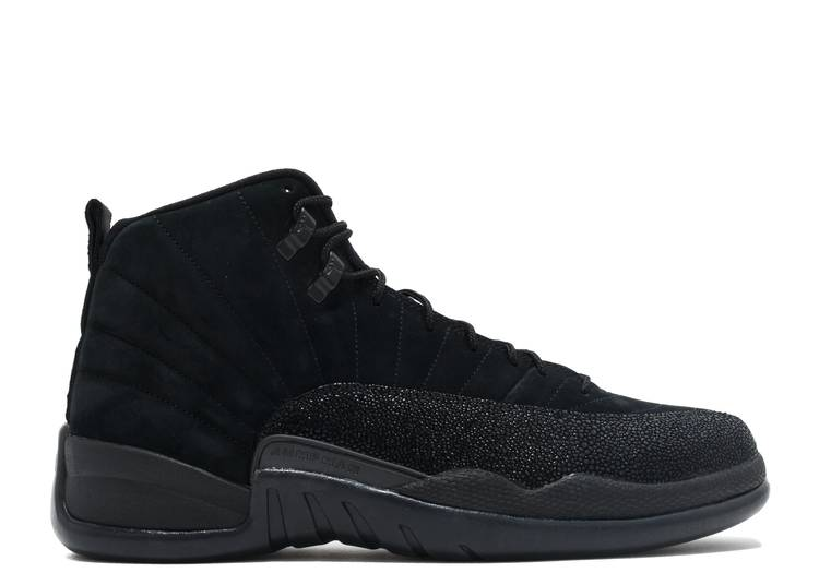 OVO x Air Jordan 12 Retro 'Black'