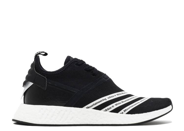 White Mountaineering x NMD_R2 PK 'Black'
